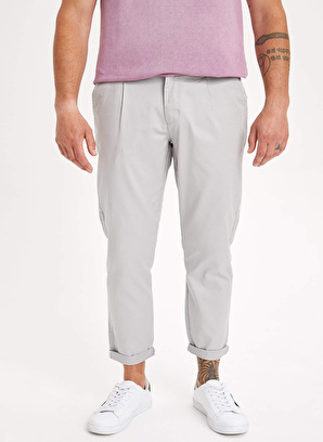 DeFacto Tapered Fit Chino Pantolon